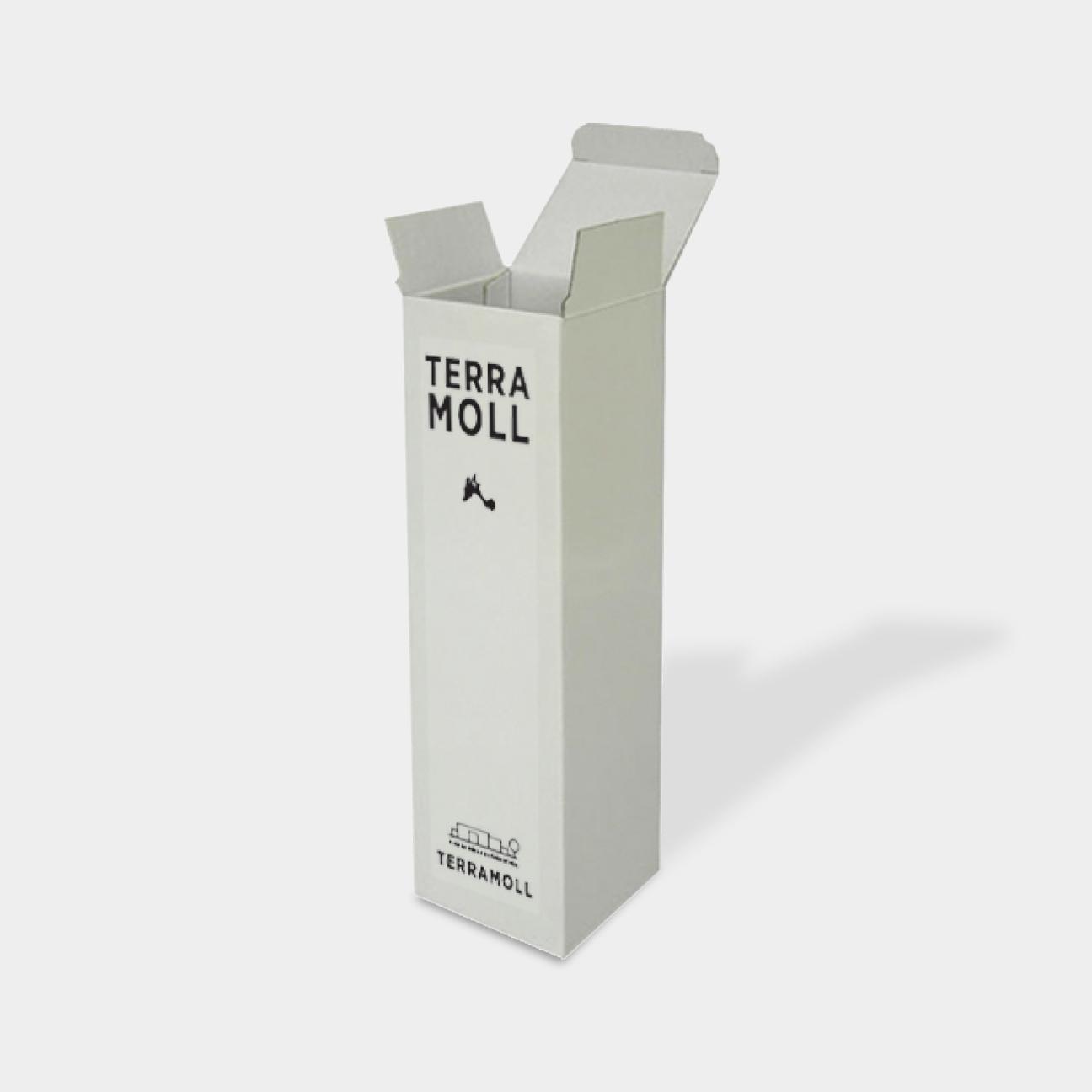 Bodega Terramoll - Diseño de identidad corporativa - cajas