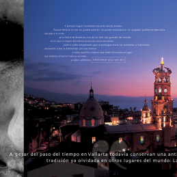 Un país. Mil mundos. México. Vallarta