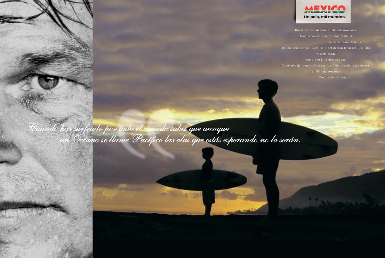 Un país. Mil Mundos. México. Surf