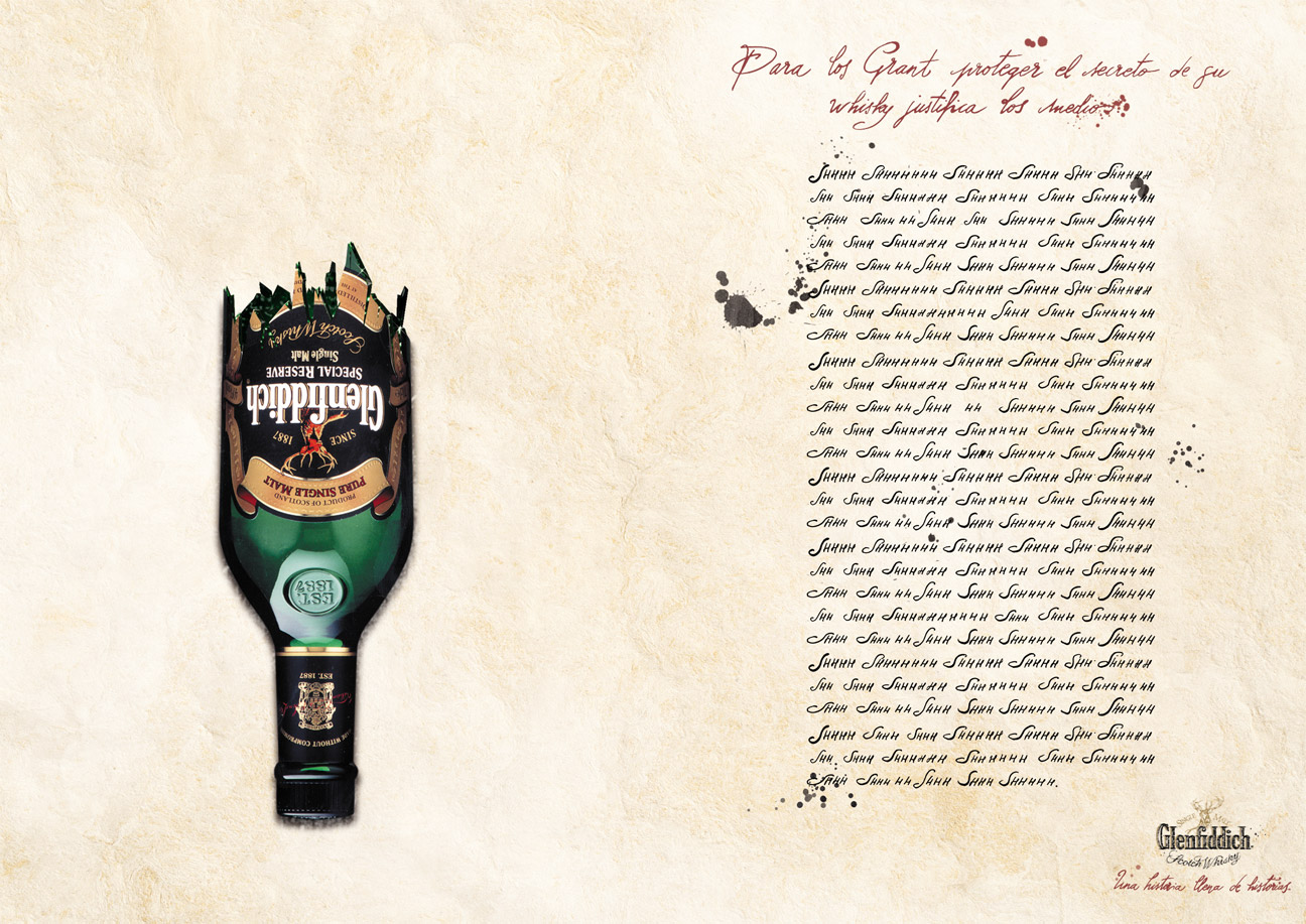 Glenfiddich Whisky - Arma