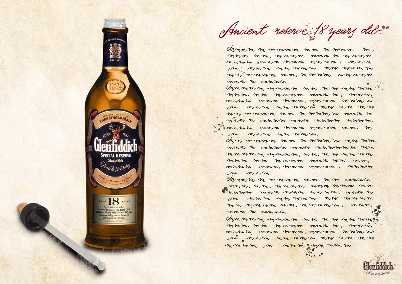 Glenddich Whisky - Cuenta gotas