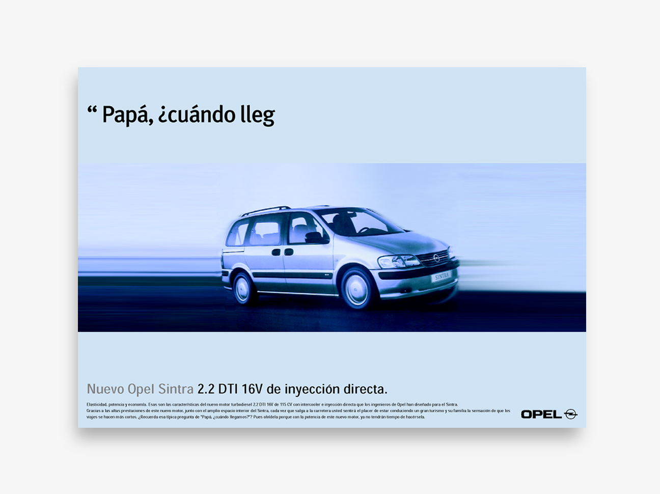 Opel Sintra - Papá