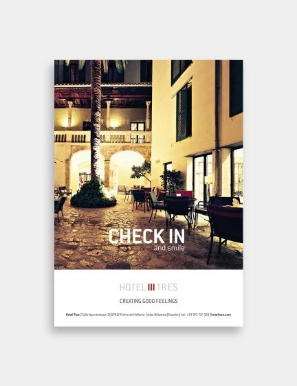 Hotel Tres – Chek in