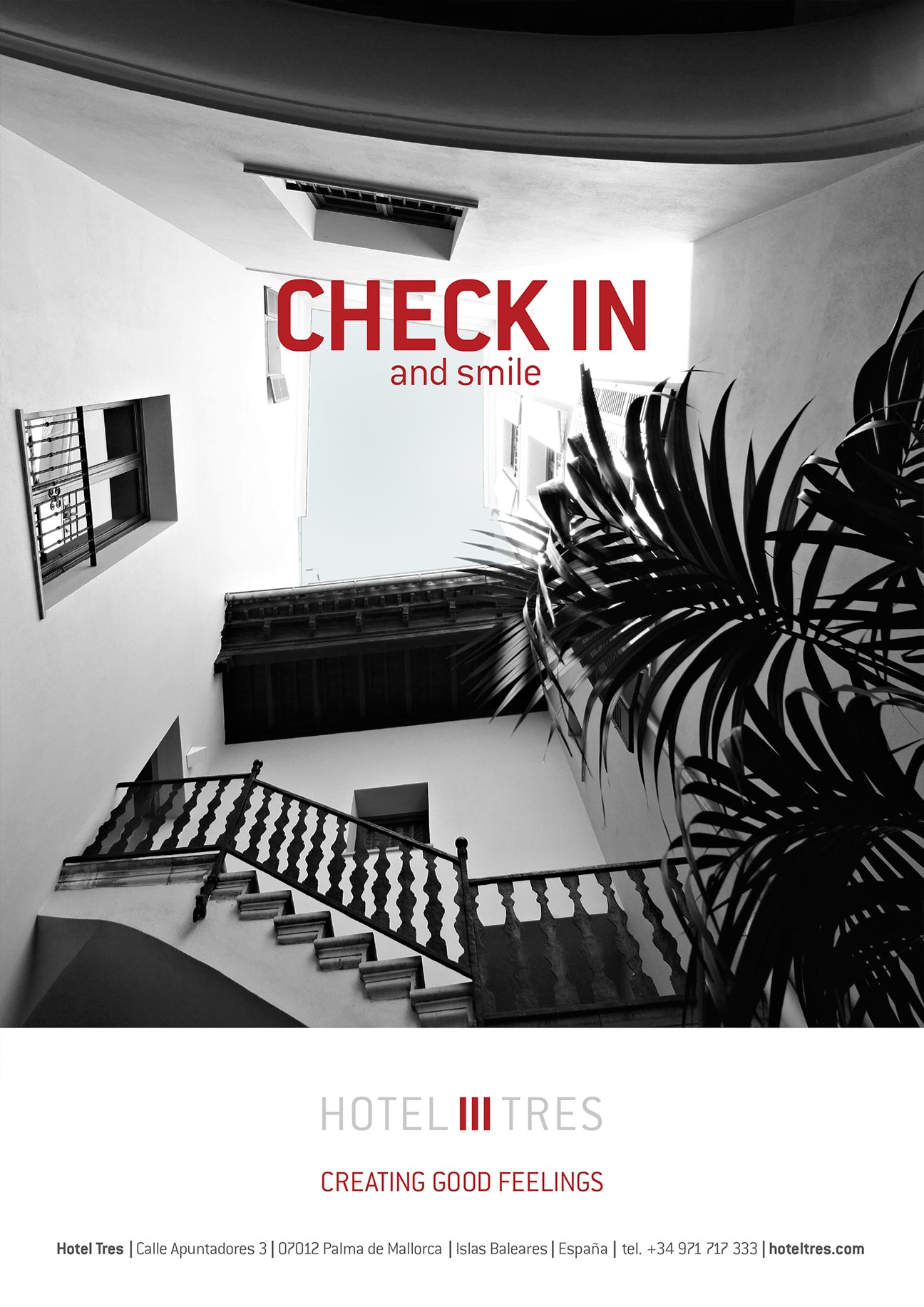 Hotel Tres - Check in