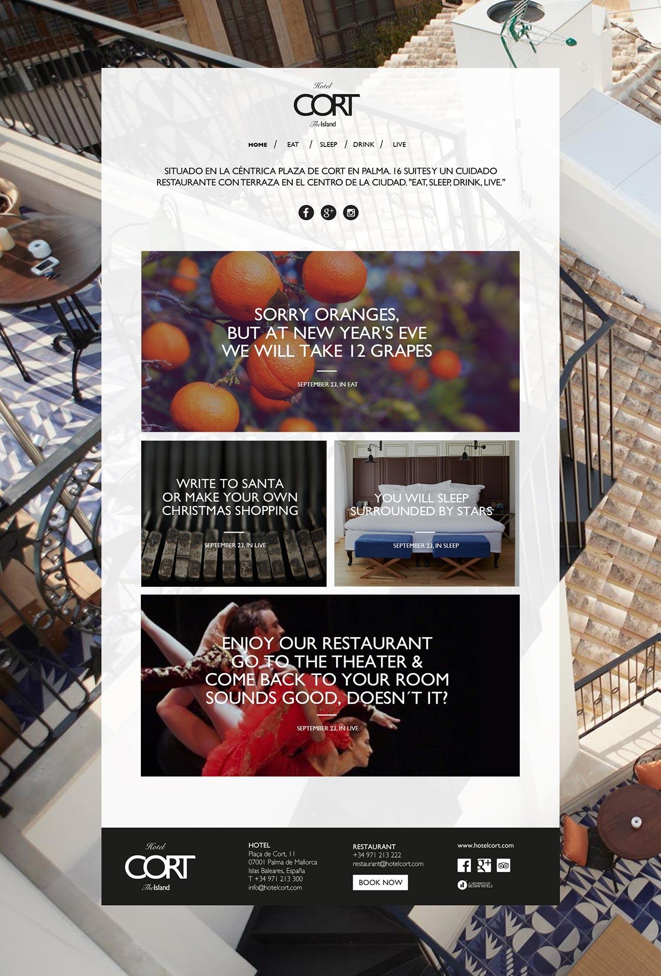 Hotel Cort - Blog