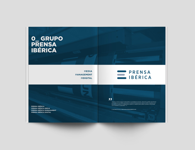 Prensa Ibérica - Manual de Identidad corporativa