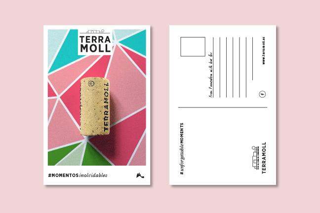 Terramoll - Momentos inolvidables, postal
